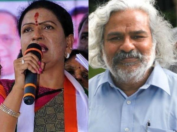 టీఆర్ఎస్ నుంచి కాంగ్రెస్లోకి నేతలు: డీకే అరుణ, ఓటు నమోదు చేసుకున్న గద్దర్