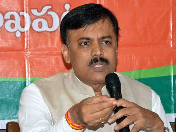 Two Telugu States CMs scared of the BJP:MP GVL comments