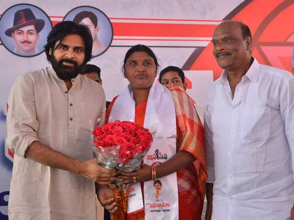 Two Ex MLAs joined in Janasena party