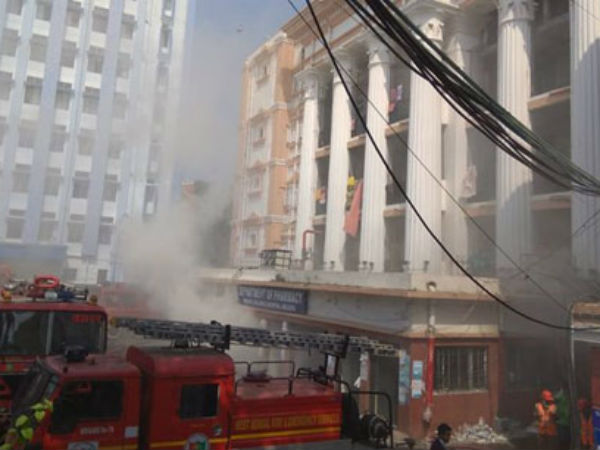 Fire breaks out at Calcutta Medical College and Hospital; 250 patients evacuated
