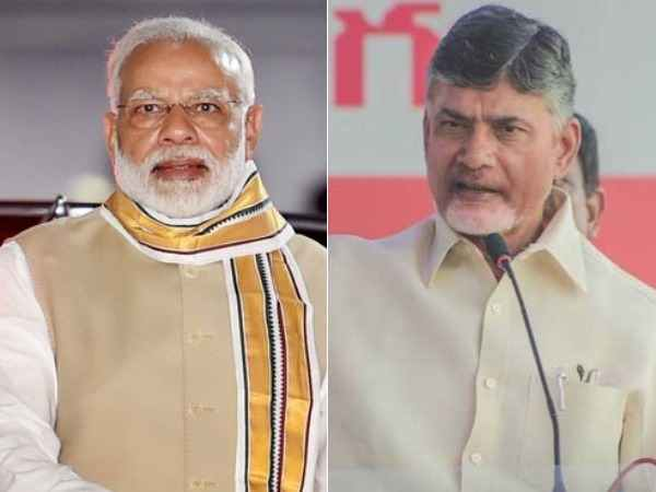 narendra modi phone call to chandrababu to know titli cyclone effect