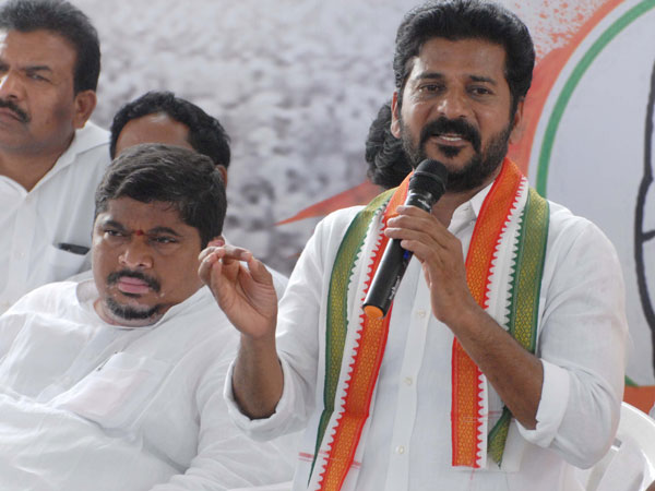 Revanth Reddy says from which party kcr came?
