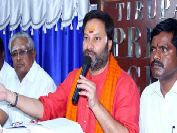 TTD has became Naras temple: BJP leader Bhanu Prakash Reddy allegation