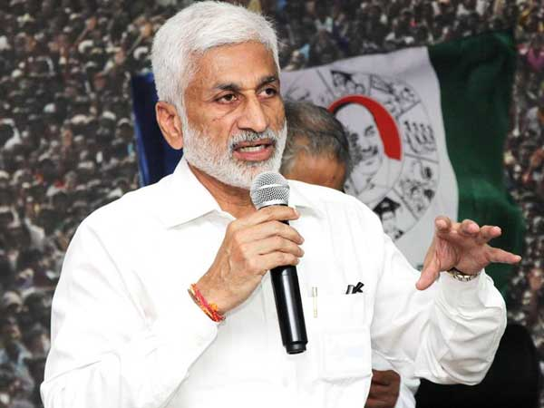 YCP MP Vijayasai Reddy once again made sensational allegations over CM Chandra babu