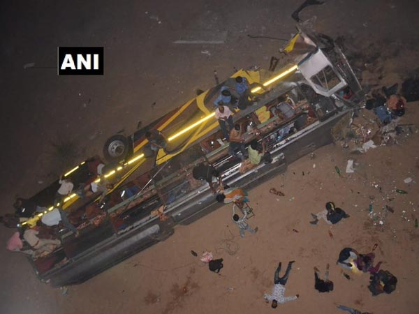 Odisha: Bus carrying 30 falls from bridge in Cuttack