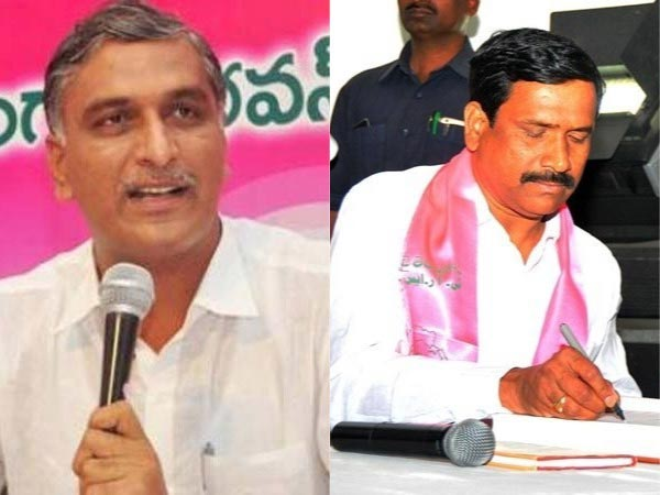 EC to TRS: Notices to Kodangal candidate and serious on Harish Rao