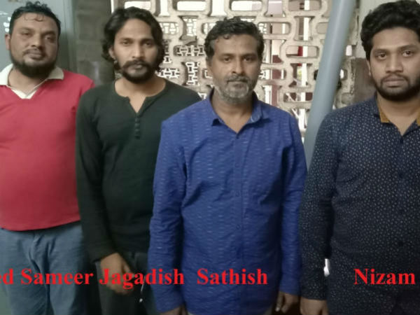 Bengaluru police arrested Kannada actor in connection with the illegal gun sale.