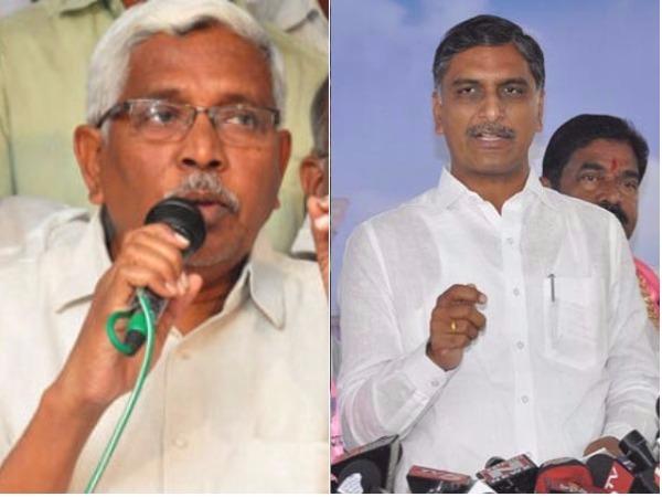 Harish Rao Lashes Kodandaram Ravula Counter Trs