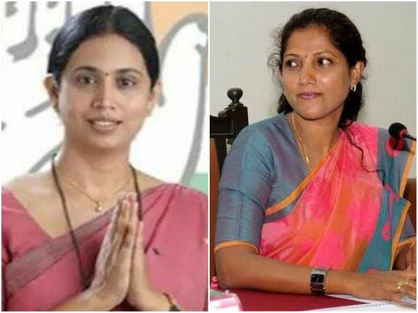 Belgavi Lakshmi Hebbalkar removed as KPCC women wing president post.