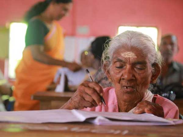 This 98 year old woman scored over 90 percent marks in exam