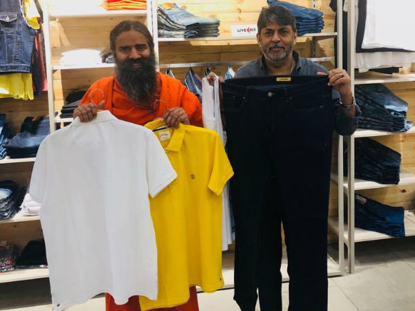 Baba Ramdev launches Patanjalis apparel brand Patanjali Paridhan. First store now open in Delhi