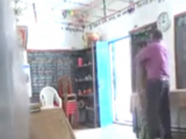 Two teachers kissing in class room, video goes viral,enquiry ordered