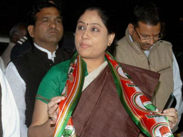 Where Is Vijayashanthi Congress Campaign