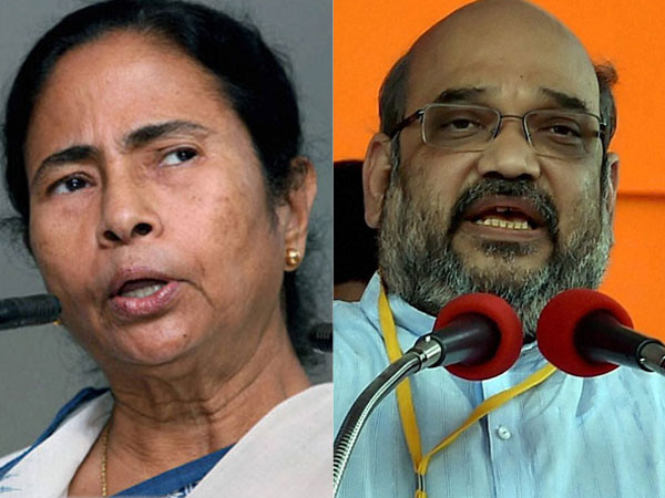 Mamata Banerjee scared of BJP rath yatra, strangling democracy, says Amit Shah