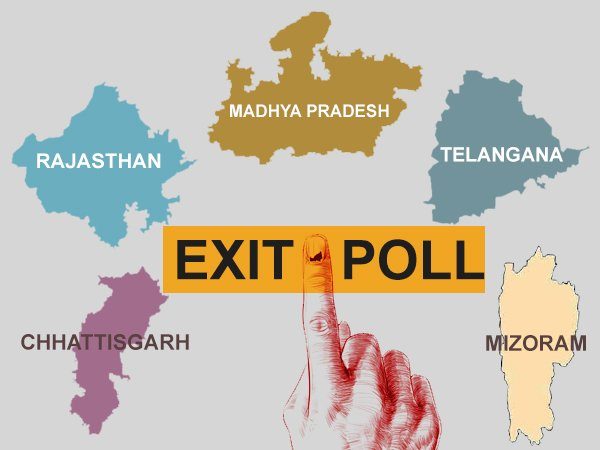 Exit polls 2018 live updates: Who will rule the five state assemblies?