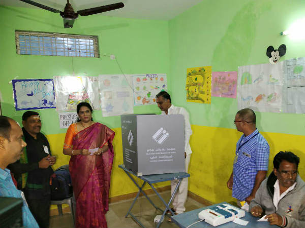 Telangana elections: Harish Rao casts his vote in Siddipet