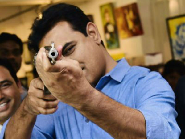 ktr photo with gun going viral