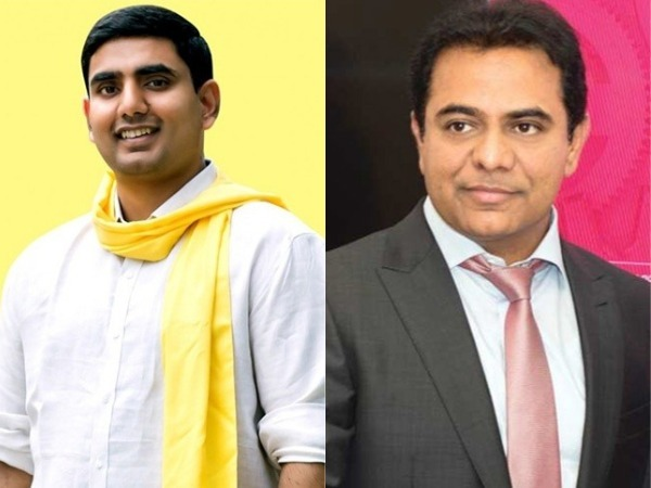 Sons of two Telugu cms to meet in the World Economic Forum..!