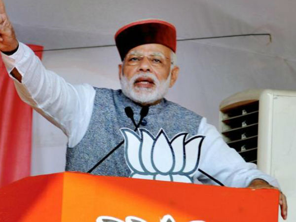 In Himachal Pradesh, PM Narendra Modi's twin attack targets Congress on corruption, loan waiver
