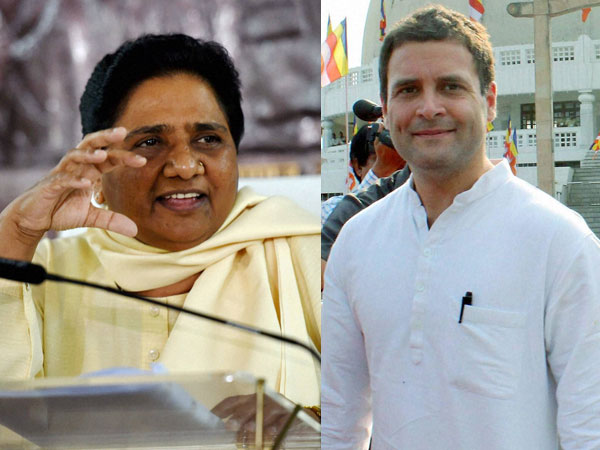 Mayawati support helps congress to form Govt in Madhyapradesh