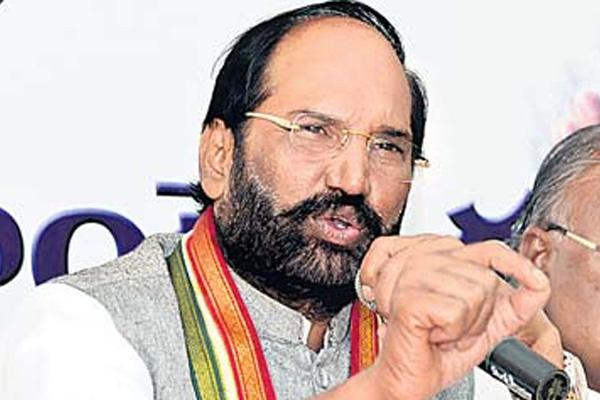Uttam Kumar Reddy interesting comments: My Wife and I decided not to have kids