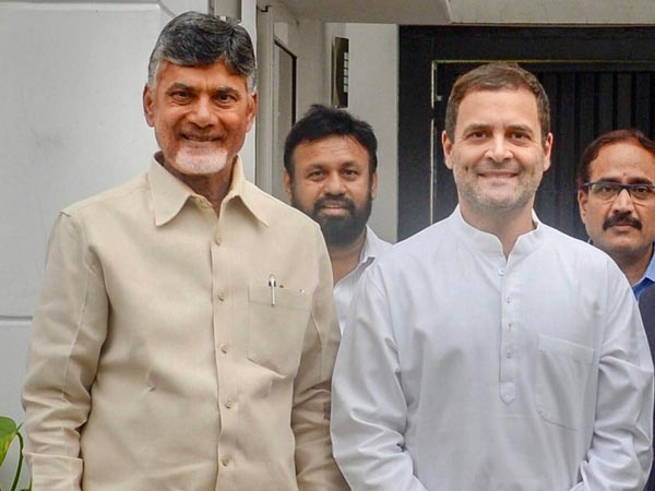 Chandrababu to Delhi today..! Meet Rahul with some national leaders..!!