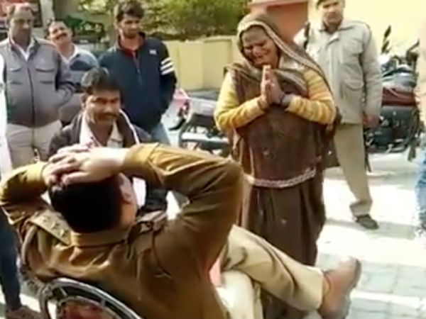 A mothers justice cry goes viral, heartless cop shunted