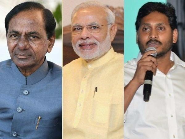 <strong>ఇండియా టుడే సర్వే: బీజేపీకి ఓటమి తప్పదు, జగన్-కేసీఆర్ కలిసినా మోడీని కాపాడలేరు?</strong>
