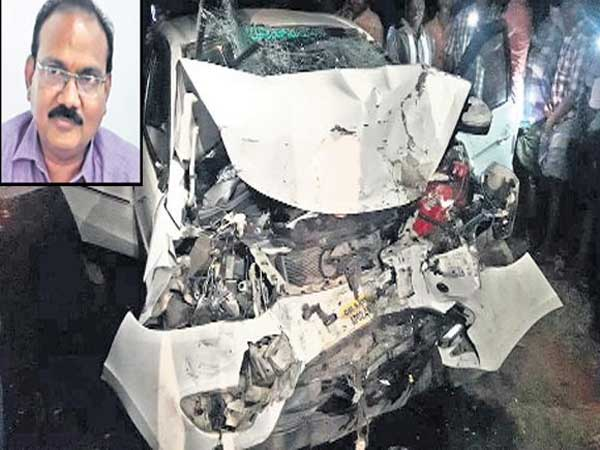 Four persons died including Municipal commissioner in road accident