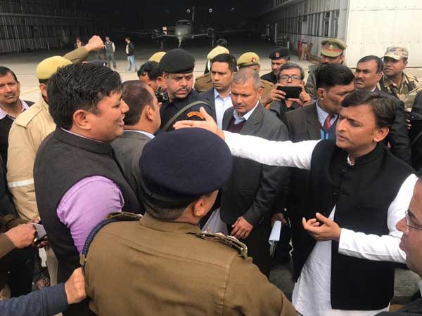Akhilesh Yadav Says Detained While Trying To Board Plane