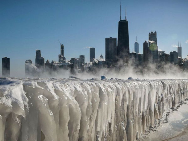 12 people died due to extreme cold in america