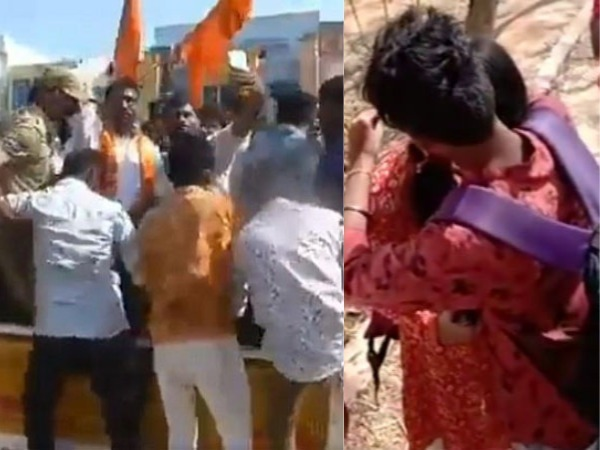 bajrang dal protest on valentines day attacked jewellery shops