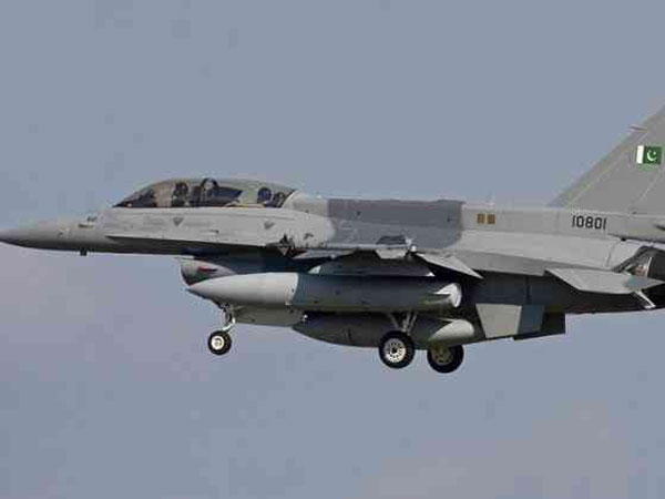 IAF shot down Pakistani F-16 3 km within Pakistan territory in Lam Valley; located near Nowshera