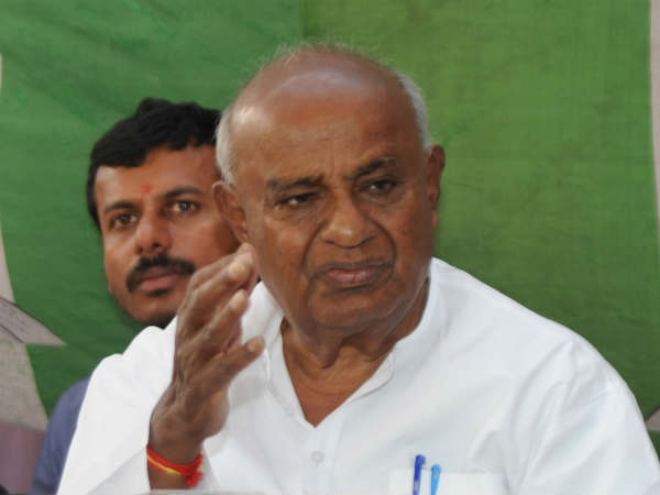 Former PM HD Deve Gowda revealed that He had offered his resignation for his MP post in 2014.