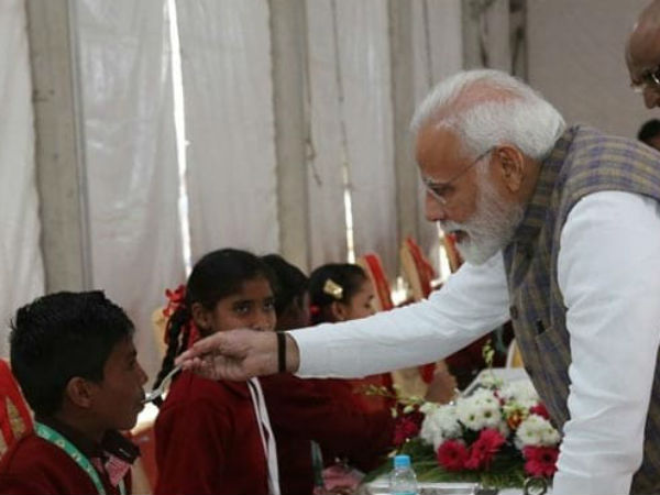 PM Modi Serves 3 Billionth Akshaya Patra Meal Today In Vrindavan