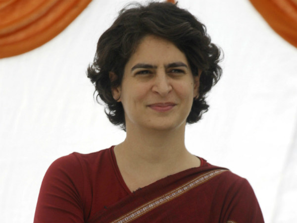 Priyanka to step in UP for the first time after she was appointed as general secretary