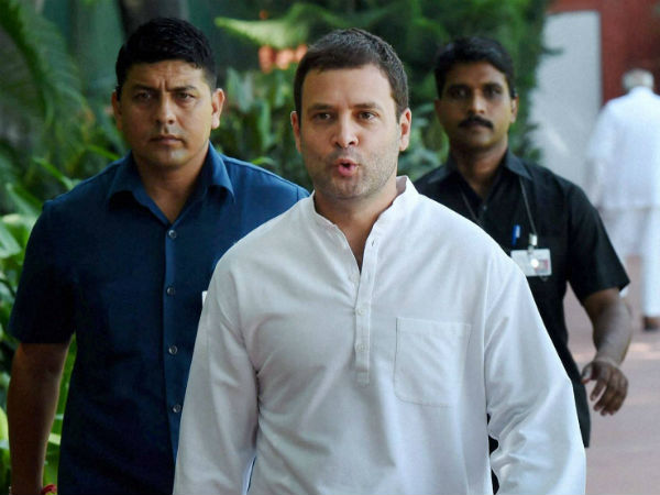 Rahul to visit AP today..! Assurance on Special Status..!!