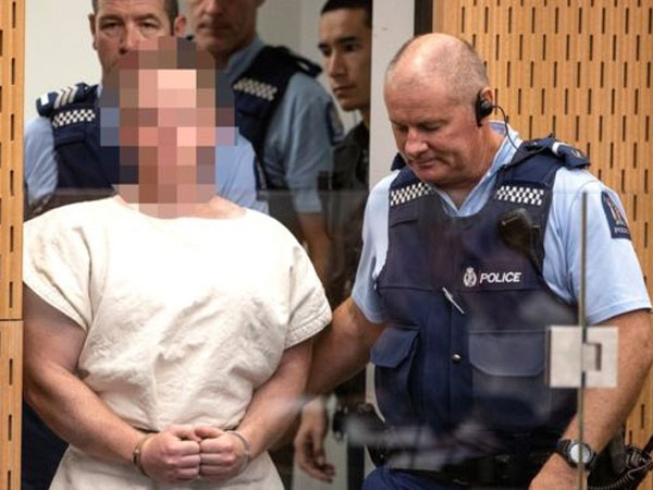 New Zealand mosque attack suspect charged with murder, appears in court