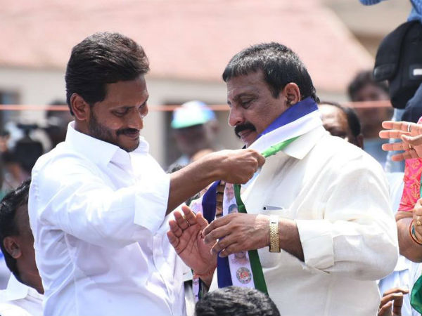 Ex MLA from Congress joined in YSR Congress Party