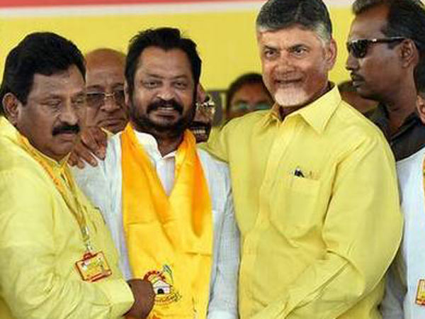 former mp harsha kumar quit tdp after joining 72 hours before