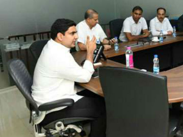 Business giants in Amravati..! Owners of the Companies Meet with Lokesh..!!
