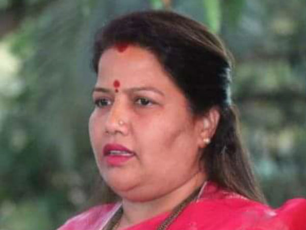 Threatened by strangers: For this reason MLA Rupali Naik wrote a letter and requested to District Police Superintendent.