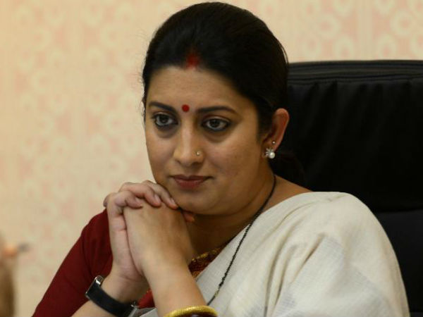 Smriti Iranis jibe over invite to Rahul to contest from Wayanad