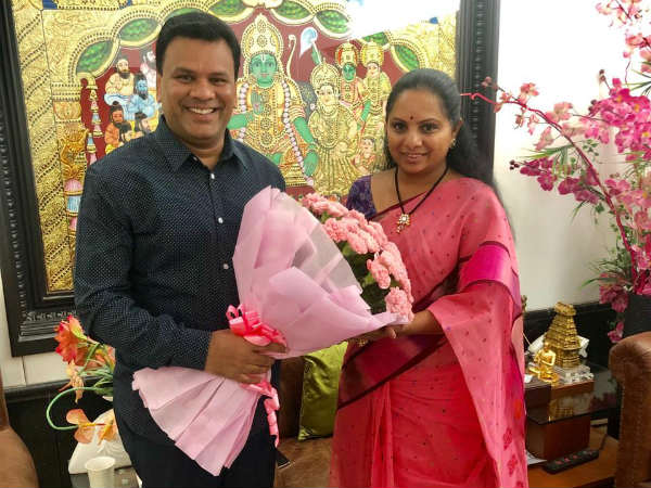 40 Countries Trs Branches Says Mp Kavita