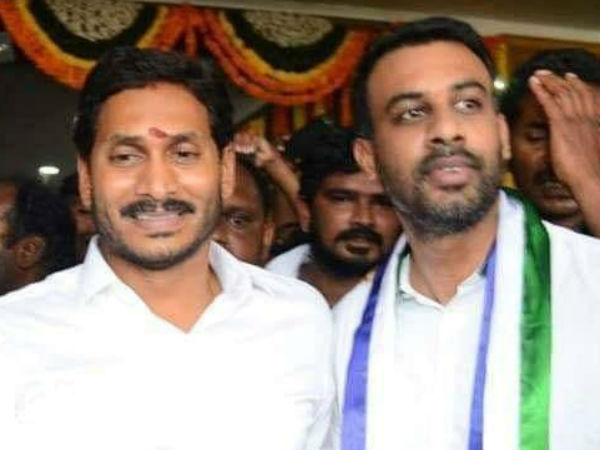 YSRCP has been changed his party candidate at Parchur Assembly segment in Prakasham district