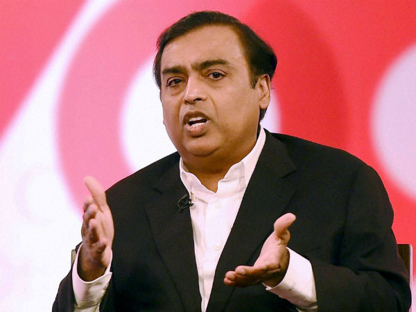Mukesh Ambani supports Congress candidate