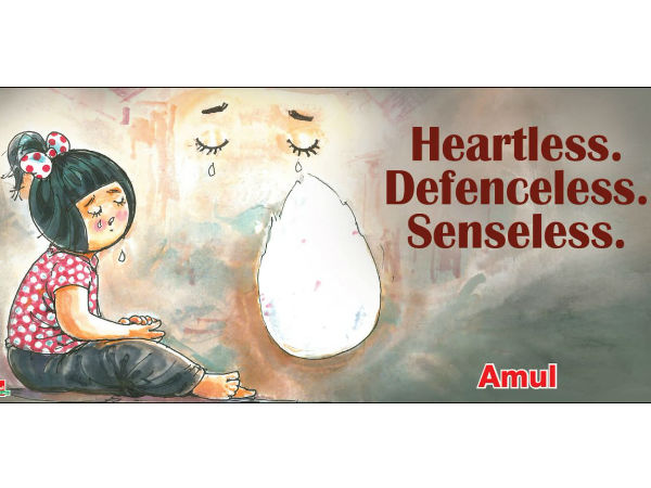 Amul company pays respect to the Srilanka victims with cartoon, photo goes viral