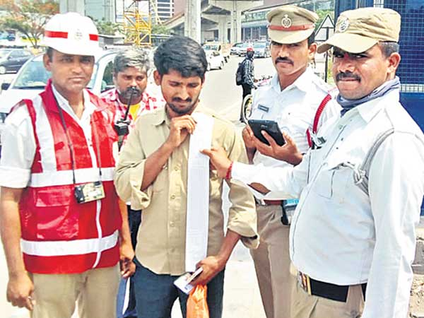 72 challans, 12 thousand fine to auto