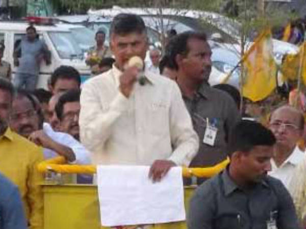 Chandra babu serious on Modi and election commission