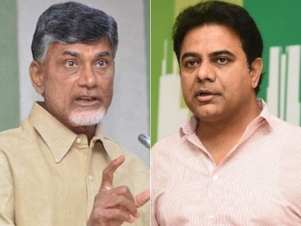 KTR setaires on Chandrababu .. all the theatrics, rhetoric and rabble rousing didn't pay off for TDP